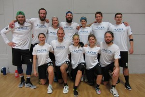 Teamfoto Hucks Indoor Mixed DM 2016 Köln