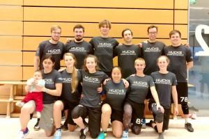 Teamfoto Hucks 2 Indoor Mixed DM 2016 Chemnitz