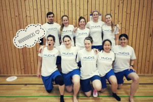 Damen Teamfoto Indoor DM Leipzig