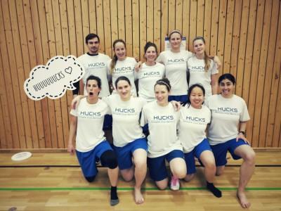 Damen Teamfoto Indoor DM Leipzig
