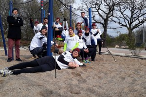 Teamfoto Hamburg Rumble