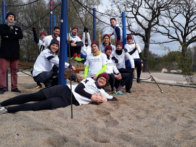 Teamfoto Hamburg Rumble