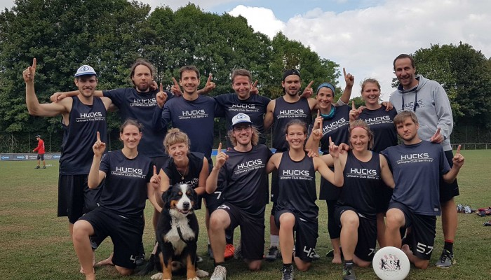 Teamfoto Hucks Mixed 2019